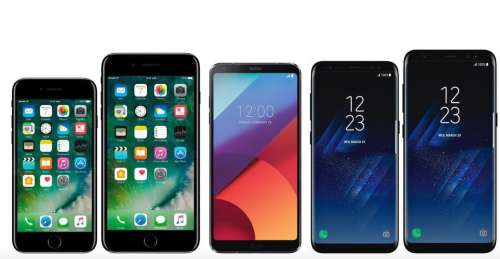 iphone 7 samsung galaxy s8