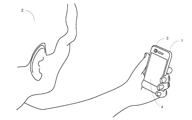 iphone 8 recunoastere faciala brevet