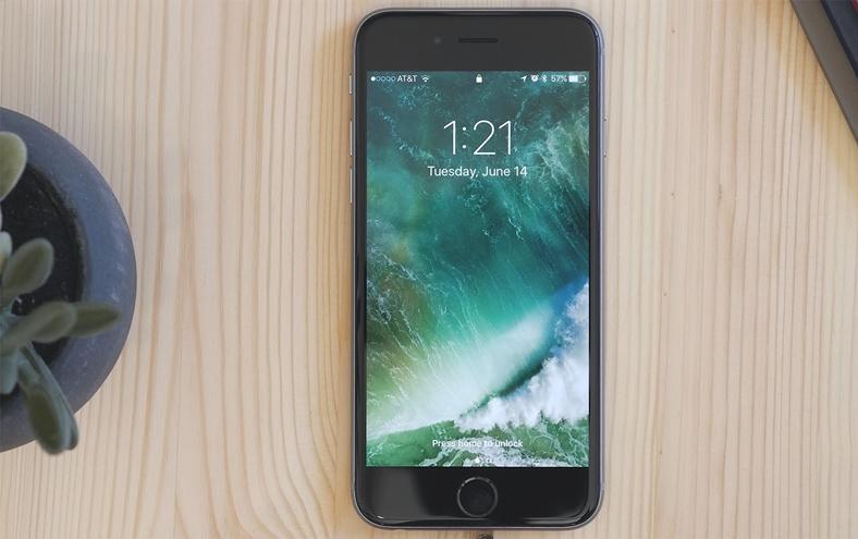 iphone lockscreen modificare