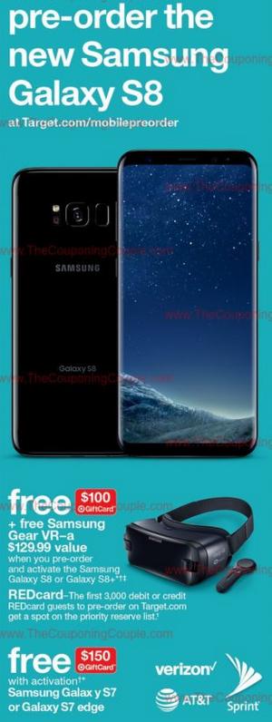 samsung galaxy s8 promotie