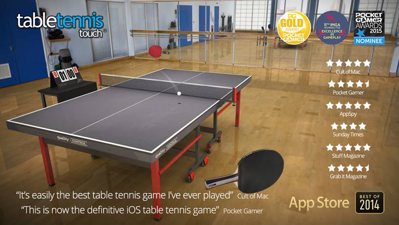 table tennis touch oferta iphone