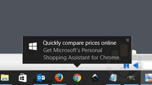 windows 10 reclame desktop
