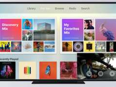 Apple TV 4 picture-in-picture tvos 11