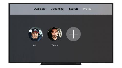 Apple tv 4 conturi utilizator