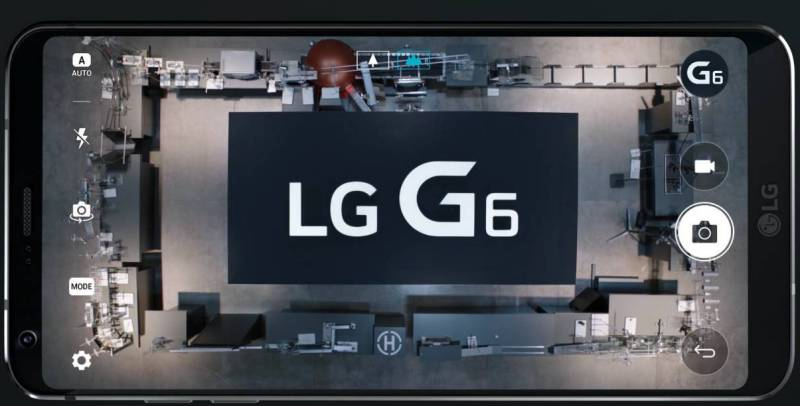 LG G6 test rezistenta impresionant