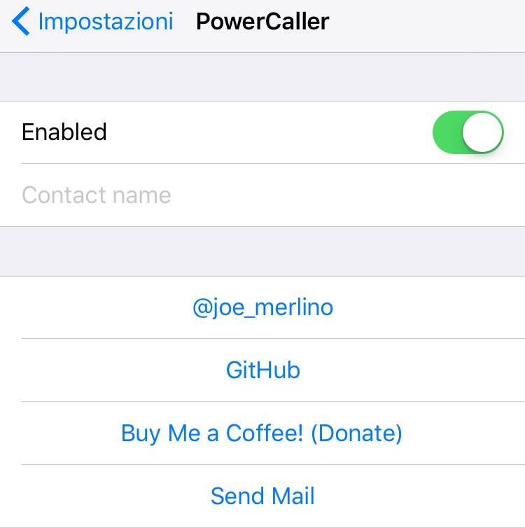 PowerCaller jailbreak iPhone
