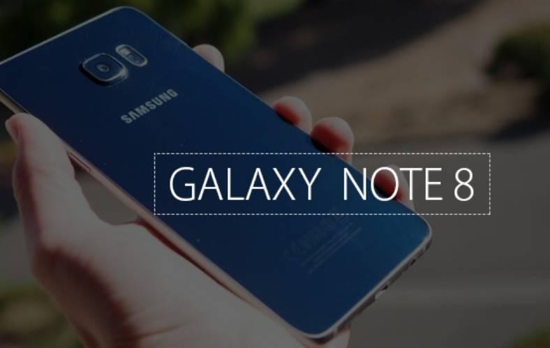 Samsung Galaxy Note 8 imagine feat