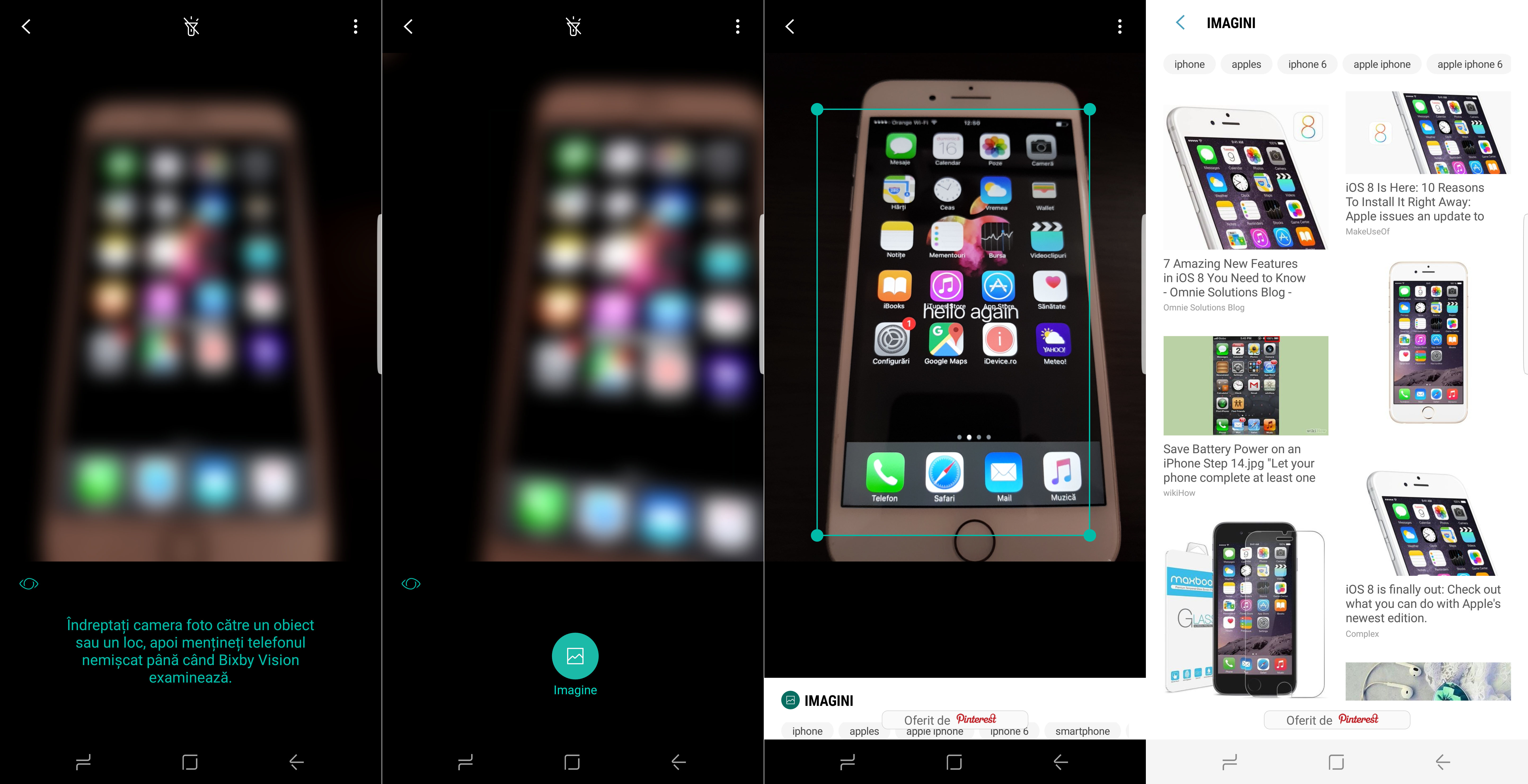 Samsung Galaxy S8 Bixby Vision | iDevice ro