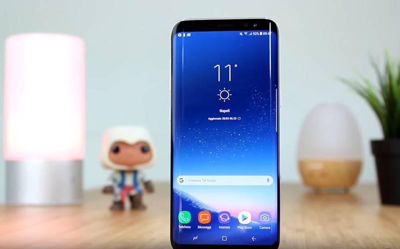 Samsung Galaxy S8 camera frontala stabilizator