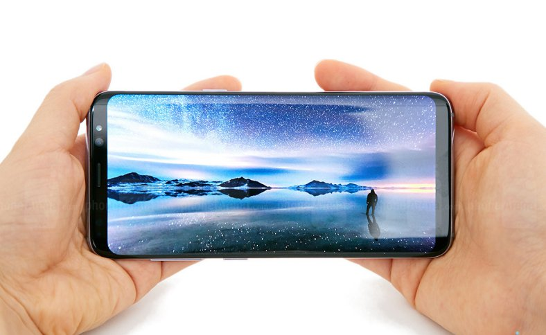 Samsung-Galaxy-S8-plus productie