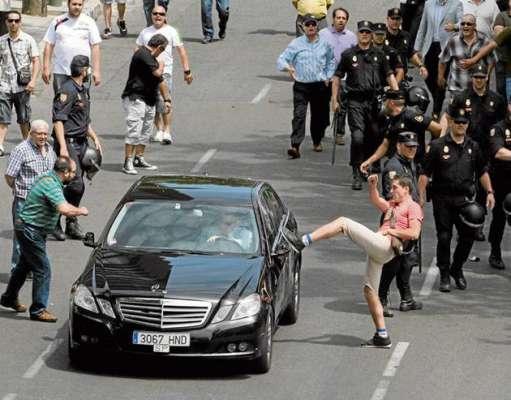 UBER protest taxi Bucuresti