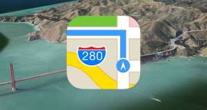 apple maps drone