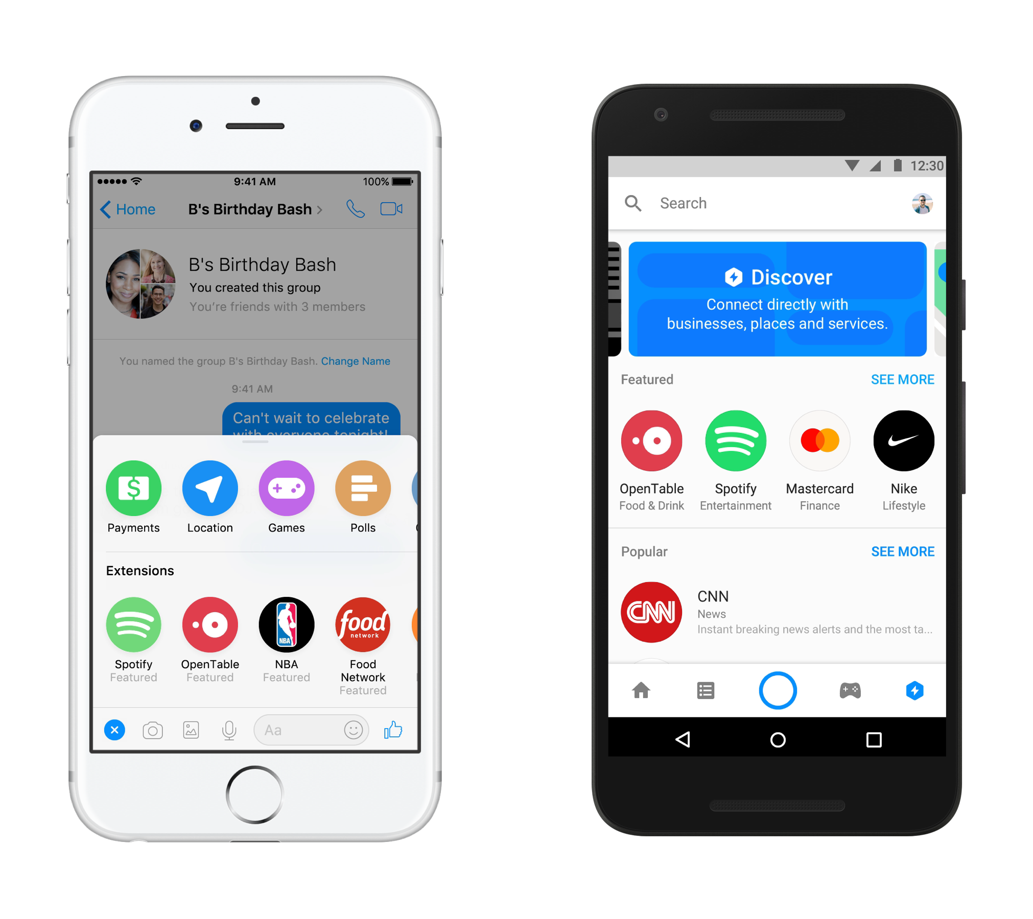 facebook messenger aplicatii ios