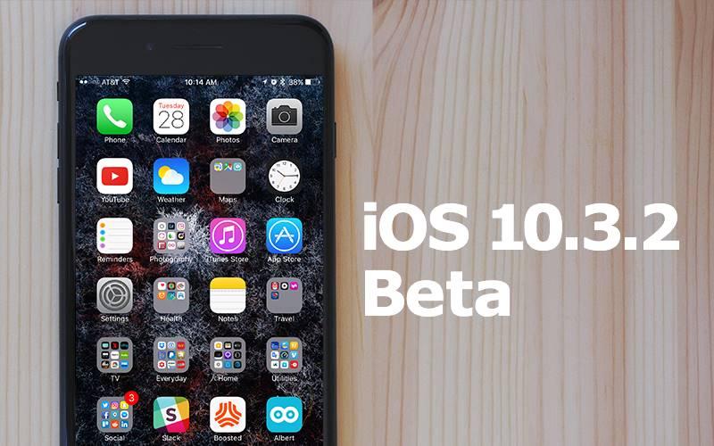 iOS 10.3.2 beta 5