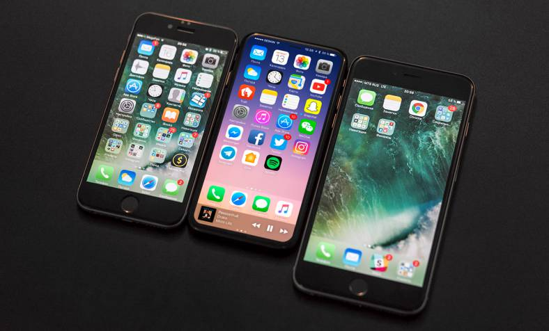iPhone 8 componente t1 2017