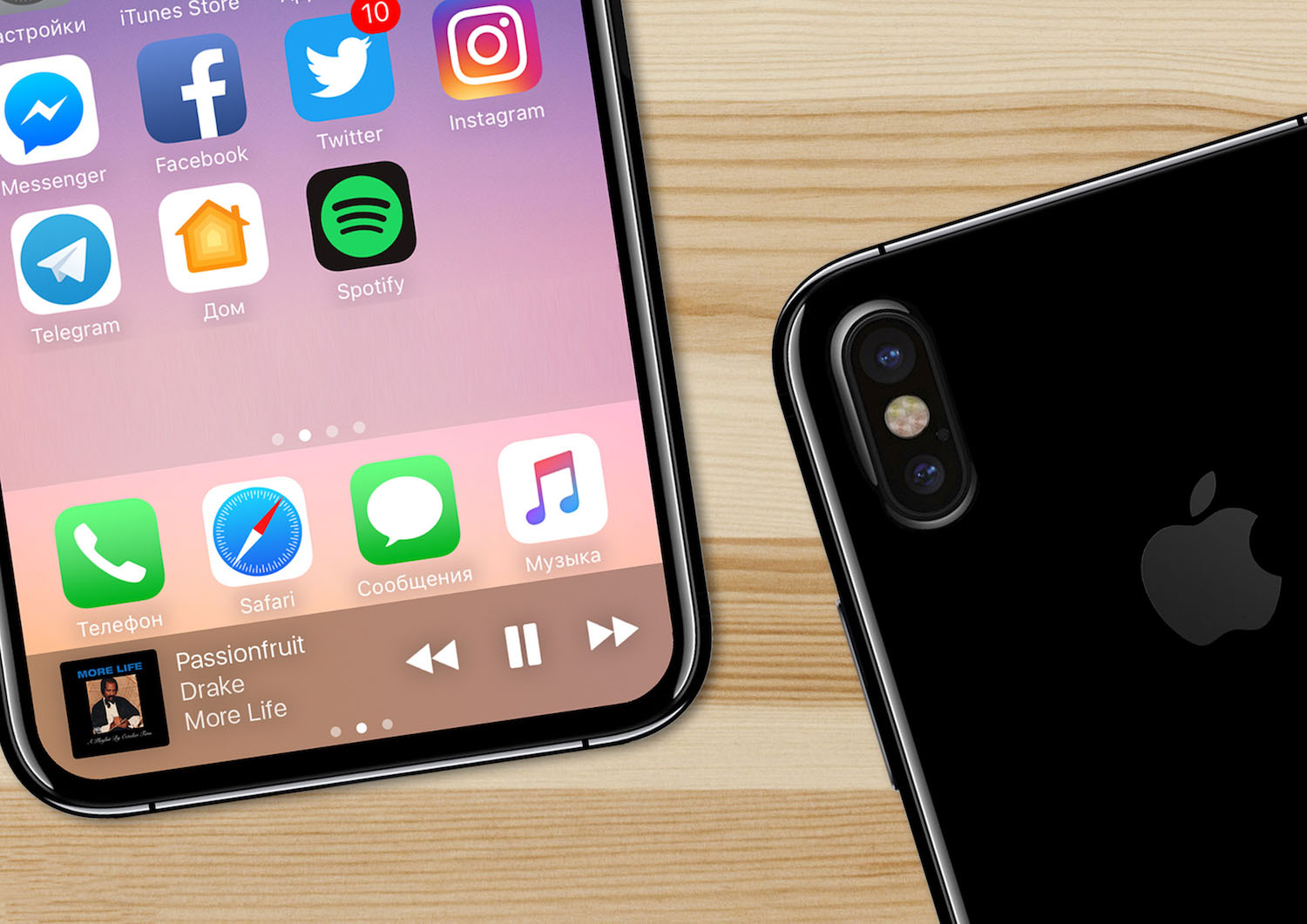 iPhone 8 concept schite reale 2