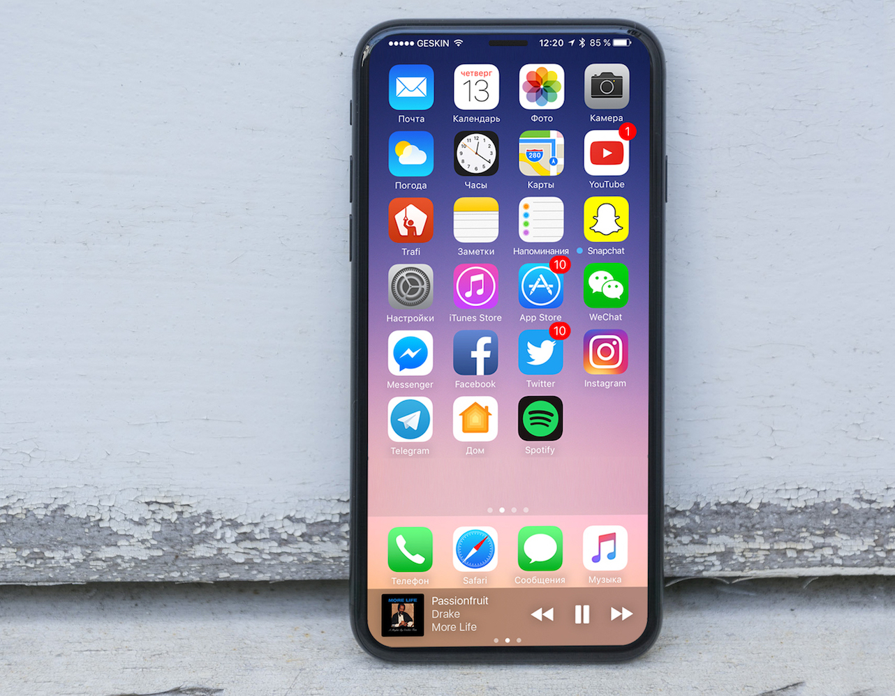 iPhone 8 concept schite reale 6