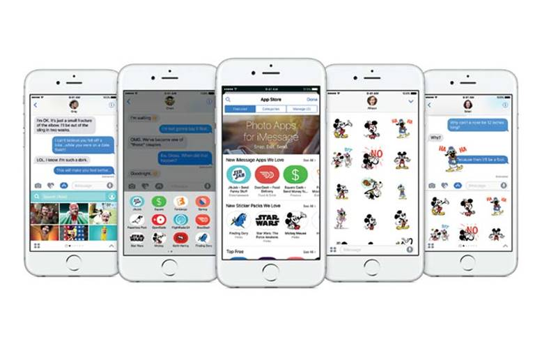imessage iphone aplicatii