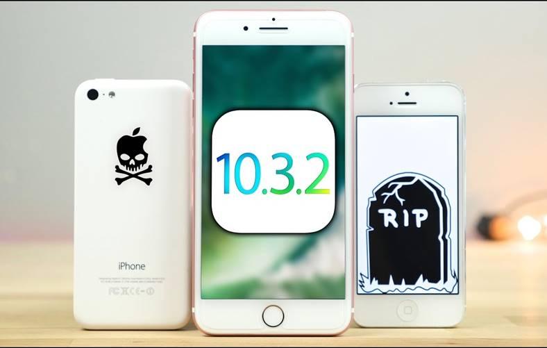 ios 10.3.2 performante iphone