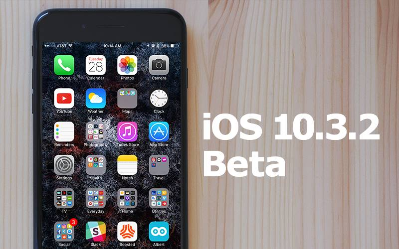 ios 10.3.2 public beta 2 instalare