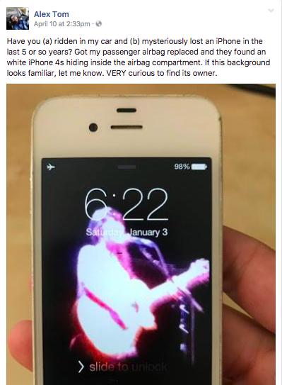 iphone 4s masina