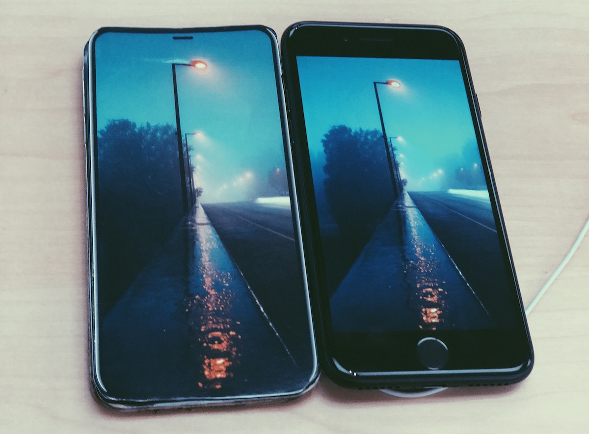 iPhone 8 langa iPhone 7