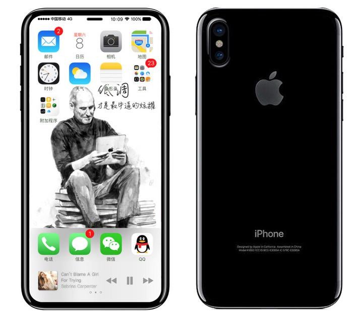 iphone 8 schita design carcasa 2