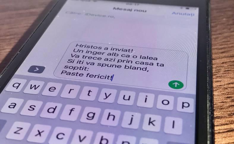 mesaje paste 2017 iphone