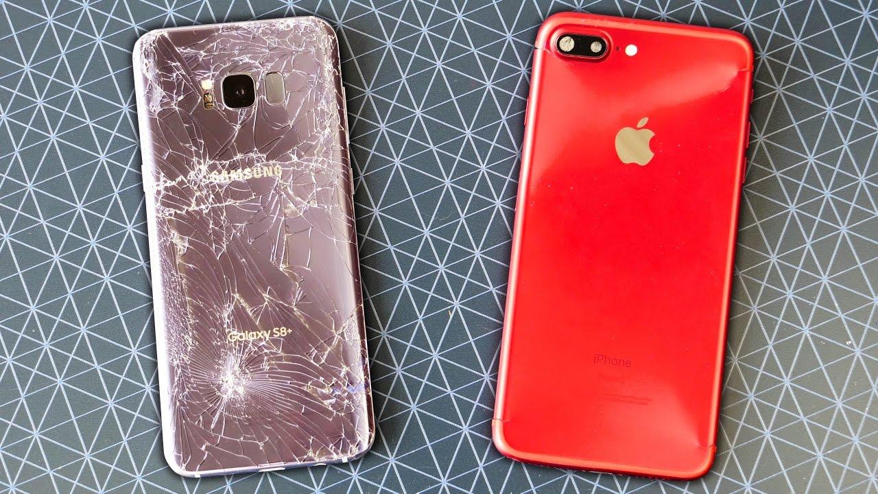 samsung galaxy s8 iphone 7 plus inghet