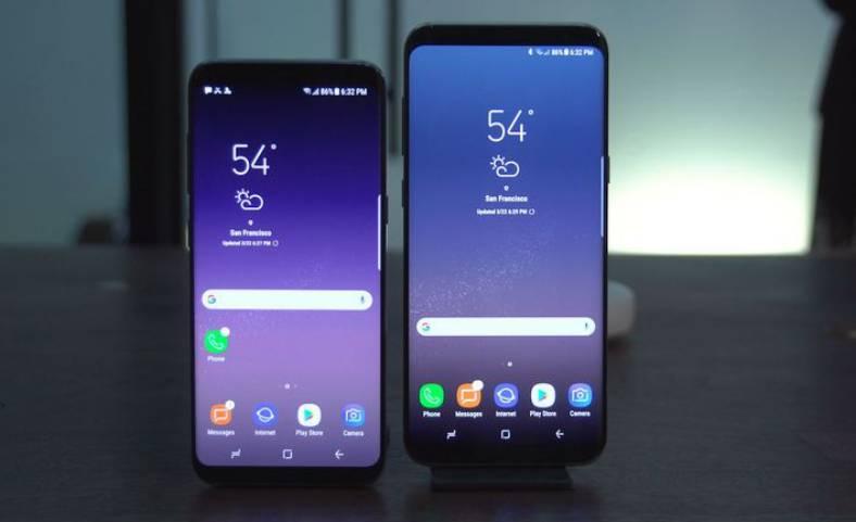 samsung galaxy s8 problema iphone 8