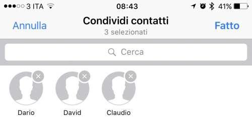 whatsapp partajare contacte
