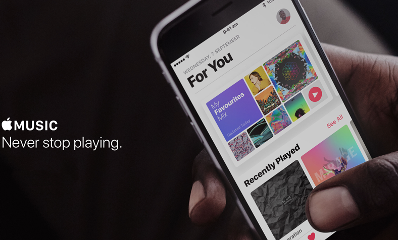 Apple Music abonament platit