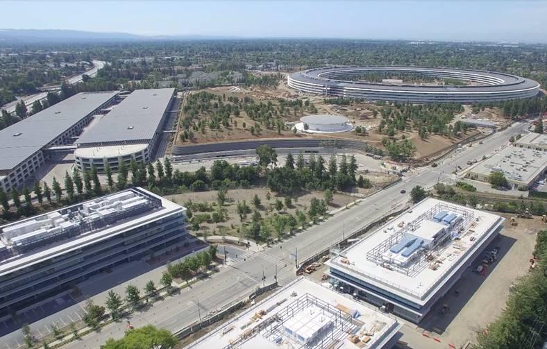 Apple Park inregistrare aeriana iunie