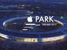 Apple Park noaptea mai