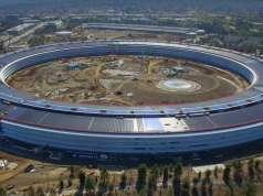 Apple Park retrospectiva constructie an