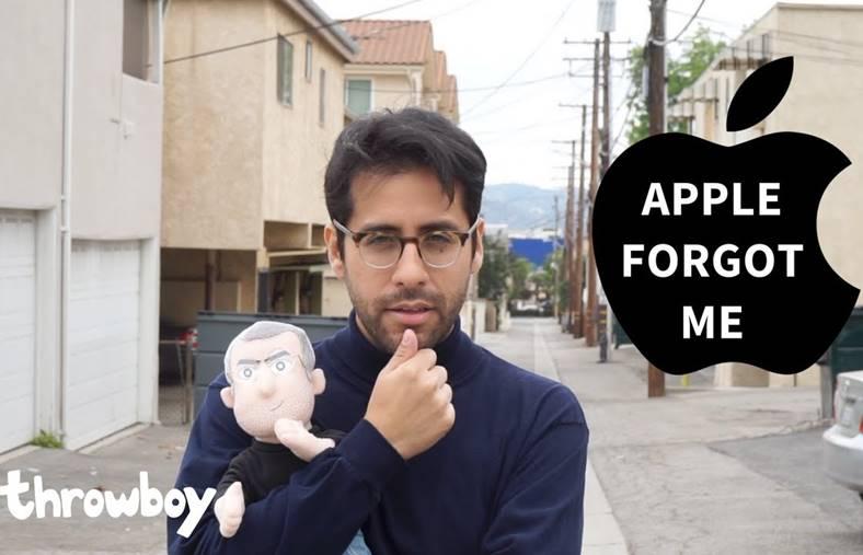 Apple parodie fan