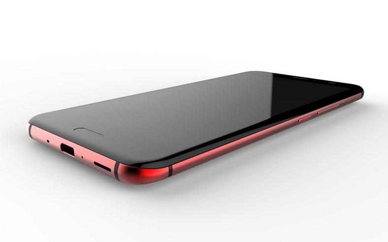 HTC U 11 arata design