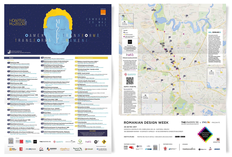 Noaptea Muzeelor 2017 harta muzee bucuresti
