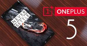 OnePlus 5 design furt iPhone