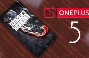 OnePlus 5 design furt iPhone