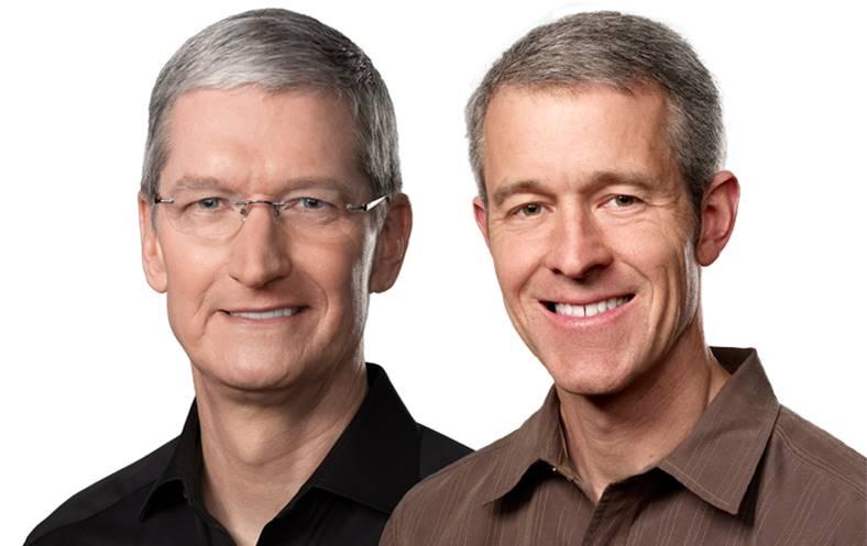 Tim Cook Jeff Williams apple