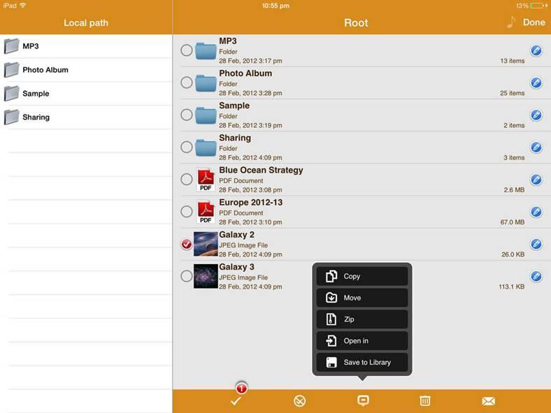 airdisk pro iphone