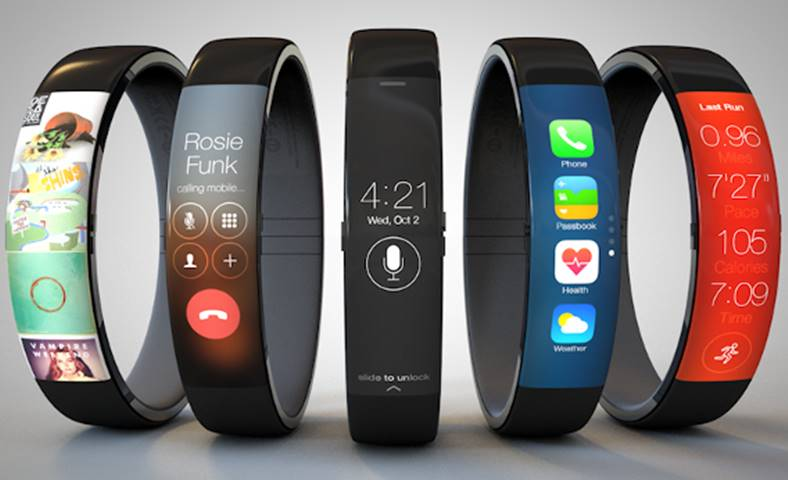 apple watch ecran flexibil