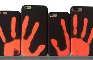 carcasa iPhone termica culoare