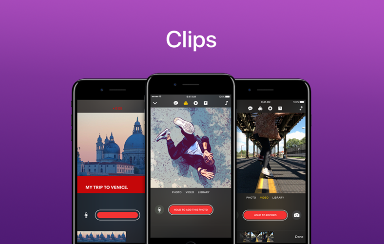 clips actualizare iphone