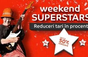 eMAG Weekend superstars reduceri romania