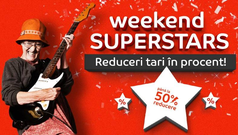 eMAG Weekend superstars reduceri romania