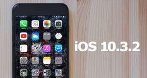 iOS 10.3.2 rapid iOS 9.3.2 performante iPhone