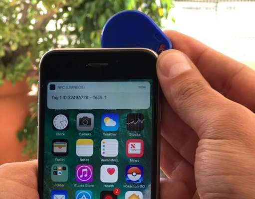 iPhone 6S nfc spart jailbreak