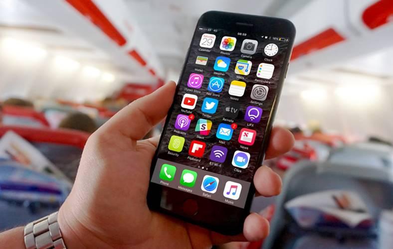 iPhone 6S prabusire avion explozie
